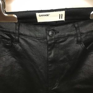 NWOT Shiny Black Jeans